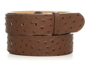 Cinturón de cuero sin hebilla