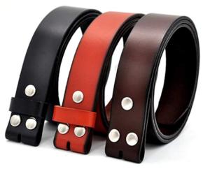 cinturones sin hebilla para hombre