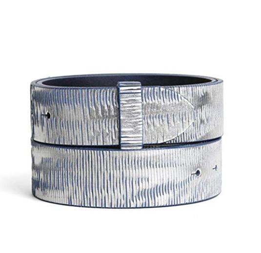 Cinturón unisex de cuero genuino estampado serpiente sin hebilla · Los  mejores cinturones tácticos de uso militar y outdoor a los mejores precios  online. 59f4fc43a246