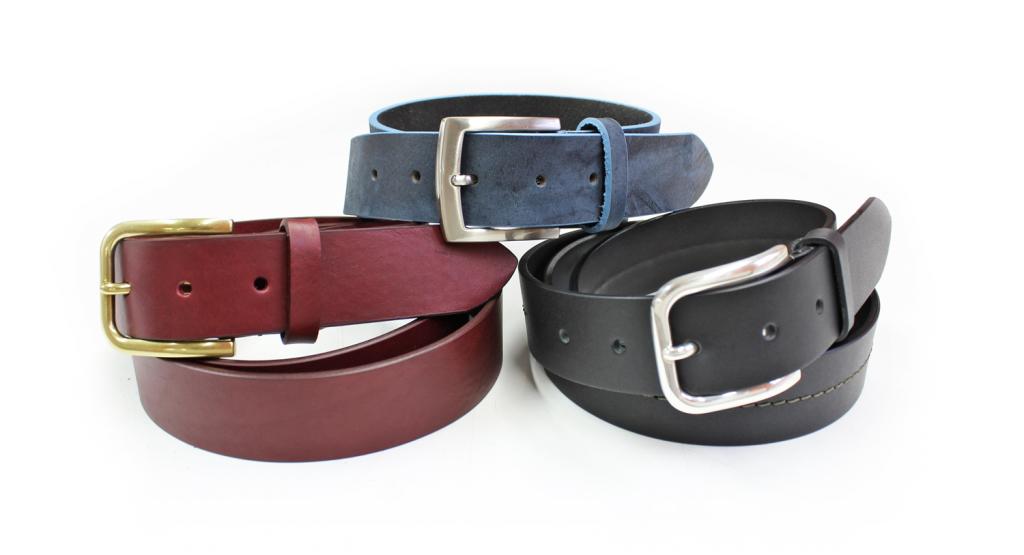Cinturones de piel