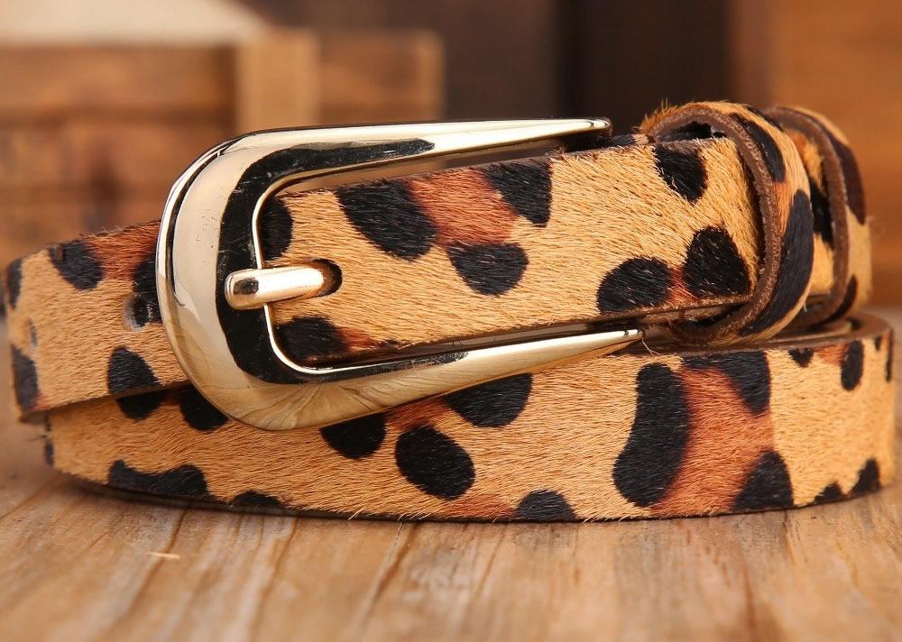 Cinturón animal print estampados animales  73ce645ed5ff